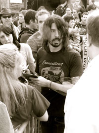 Foo Fighters Perform at Oskar Blues