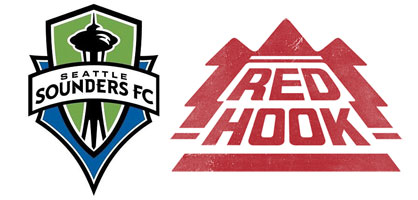Red Hook and Seattle Sounders Partner