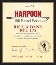 Harpoon Rye IPA
