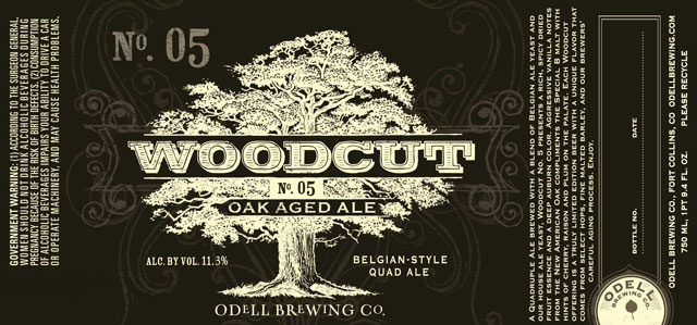 Odell Brewing Woodcut No. 5