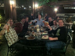 The Brewer's Enjoying Beers