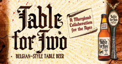Flying Dog Table For Two