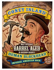 Schmaltz Brewing Coney Island Human Blockhead