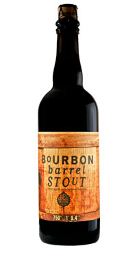 Odell Bourbon Stout Bottle