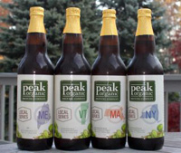 Peak Organic Local Bottles