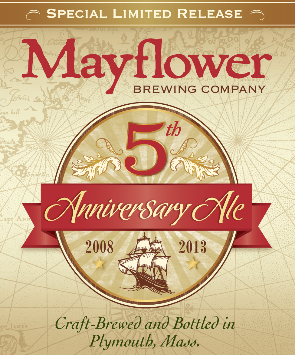 5th Year Anniversary: Mayflower Releases 5th Year Anniversary Ale