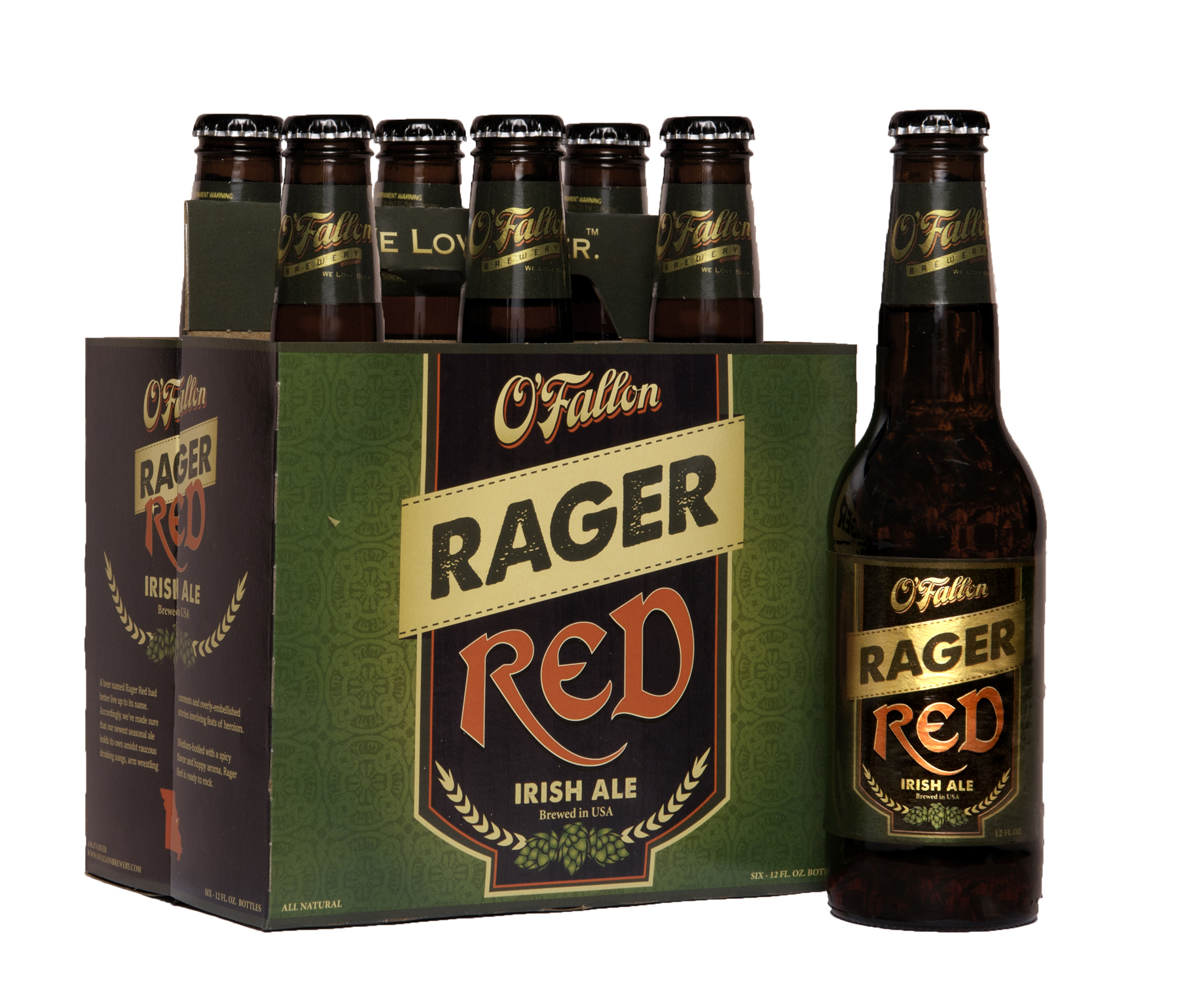 with the launch of its new spring seasonal beer  Rager Red Irish AleIrish Beer