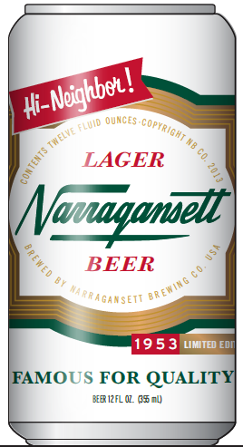 Narragansett Goes Retro With Limited-Edition 1953 Can | Brewbound.com