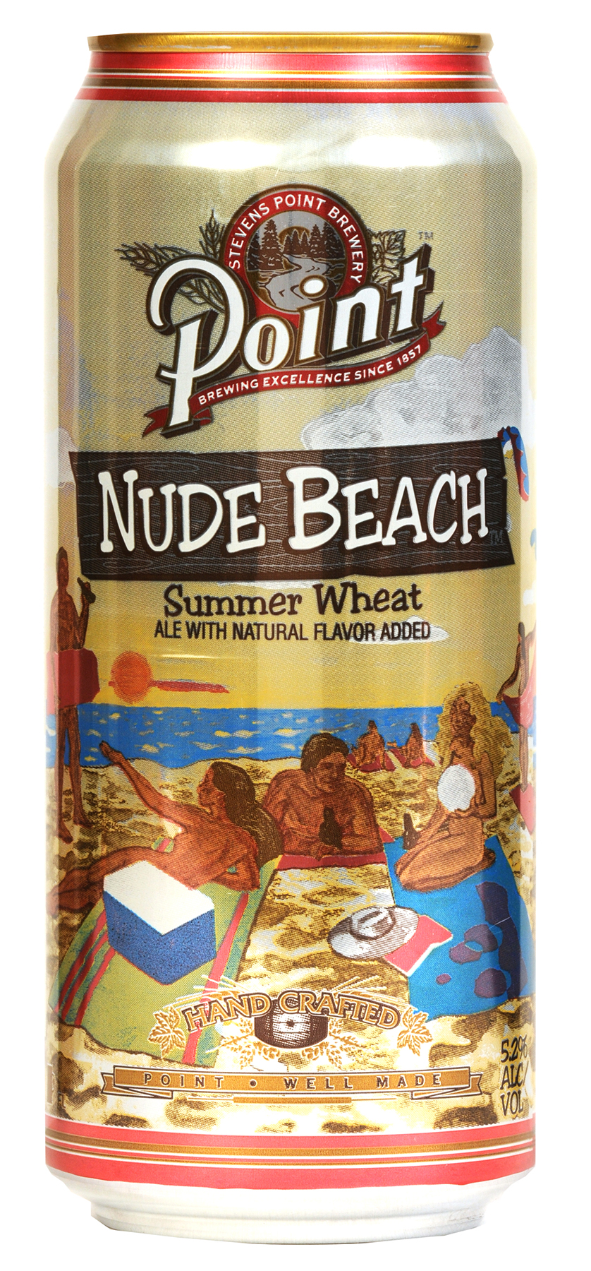 Stevens Point Brewery Introduces 16 Oz. Nude Beach