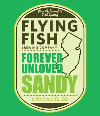 Flying fish brewing co bottles f u sandy for Flying fish company