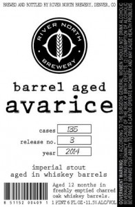 barrel aged avarice
