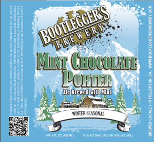 bootleggers mint chocolate