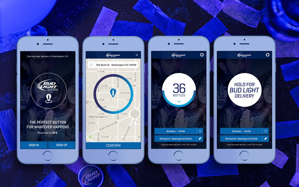 Bud Light Button Screenshots