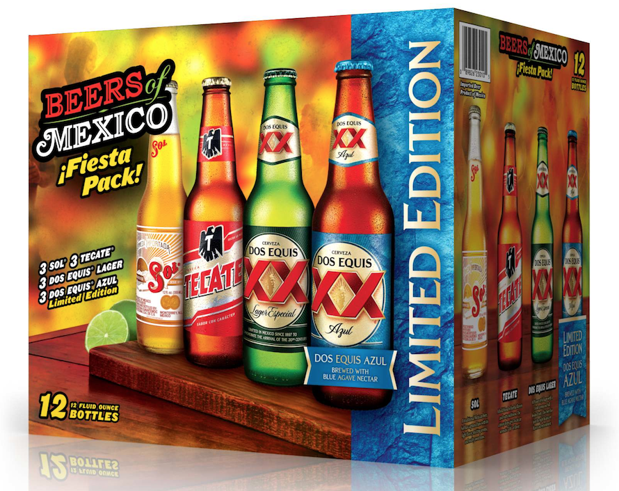 Heineken Usa Updates Beers Of Mexico Variety Pack Brewbound
